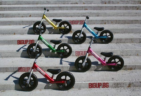 Balance bike Алуминиево, с капсуловани лагери. 1.9кг-1217
