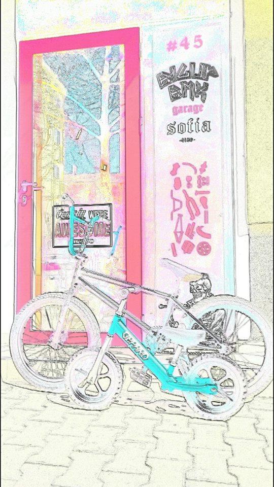 Balance bike Алуминиево, с капсуловани лагери. 1.9кг-948