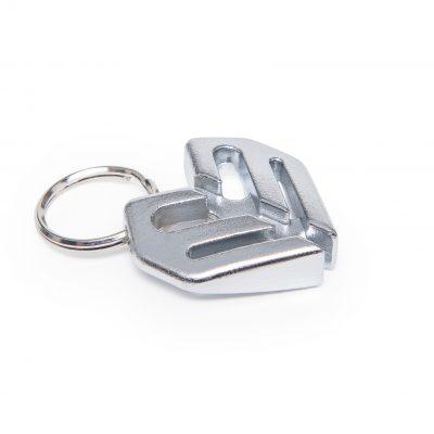 Eclat Keychain Spoke Wrench (Silver)