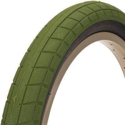 """BSD Donnasqueak Tire 20X2.4"""" (Green)"""
