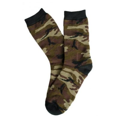 Shadow Crow Camo Crew Socks
