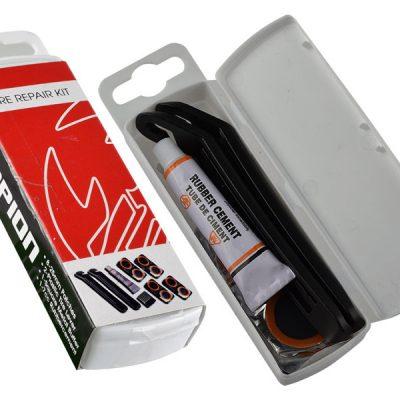 Tire repair kit - ремонтен комплект за спукани вътрешни гуми с включени щангички-0