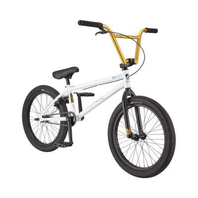 """GT 2021 Team Conway 21""""TT BMX Bike-Speed White"""