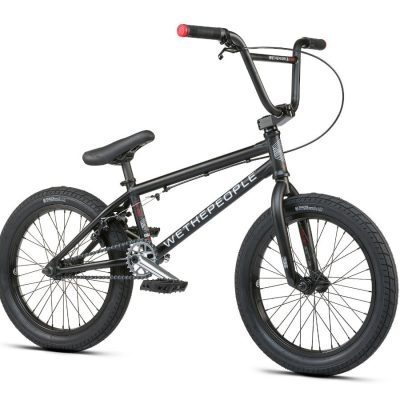 "WTP CRS BMX Bike 18"" Black"