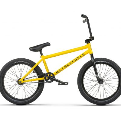 "Wethepeople 2021 JUSTICE 20.75""TT Complete (taxi cab yellow)"