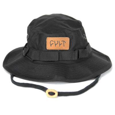 Cult Boonie Hat (Black)