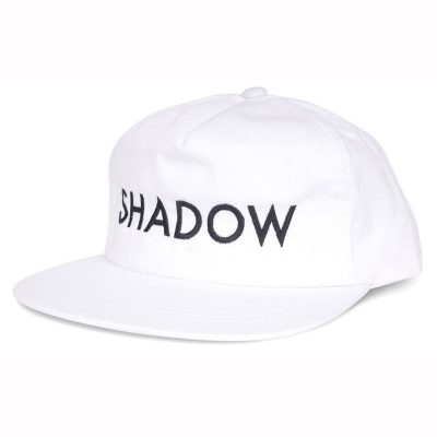 Shadow VVS Snapback Hat (White)