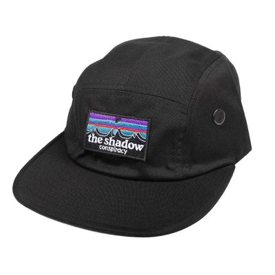 Shadow Out There Camp Hat (Black)