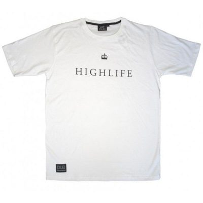 DUB Highlife T-shirt / L (White)