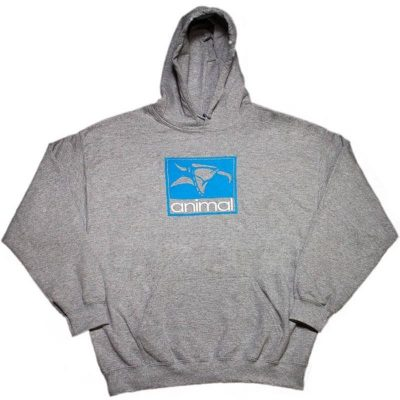 Animal OG Hoodie / XL (Grey)