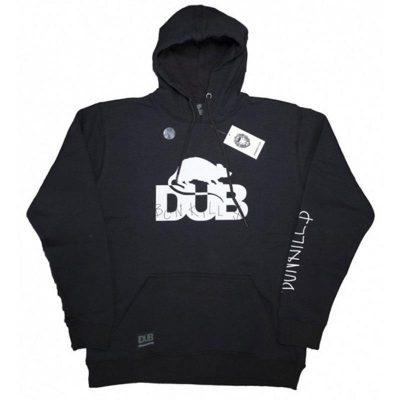 DUB BCN Kills Pullover Hoodie / L (Black)