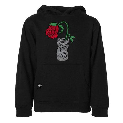 Subrosa Trashed Can Pullover Hoodie / L (Black)