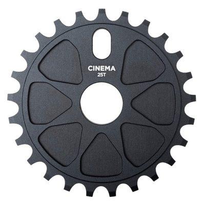 Cinema Rock Sprocket 25t (Black)