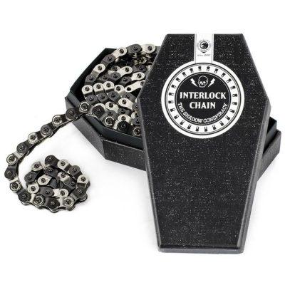 Shadow Interlock 2 Chain (silver/black)