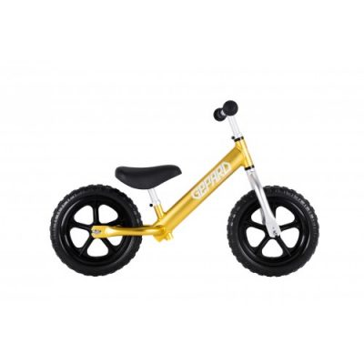Детски балансов велосипед Gepard Алуминиев (Жълт)