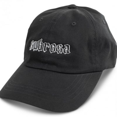 Subrosa Drippy Dad Cap (Black)