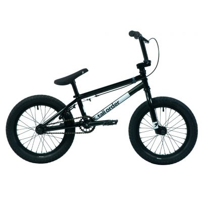 "Tall Order Ramp 16"" Bike (Black)"