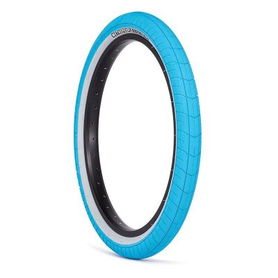 """We The People Activate 2.4"""" Tire (blue with greywall)"""