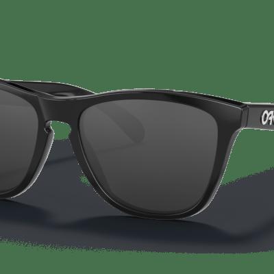 Oakley Frogskins™ (Polished Black Frame. Prizm Black Lenses)