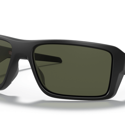 Oakley Double Edge (Dark Grey Lenses,  Matte Black Frame)