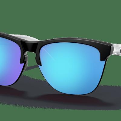 Oakley Frogskins™ Lite (Prizm Sapphire Lenses,  Matte Black Frame)