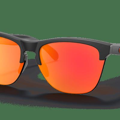 Oakley Frogskins™ Lite (Prizm Ruby Lenses,  Matte Black Frame)
