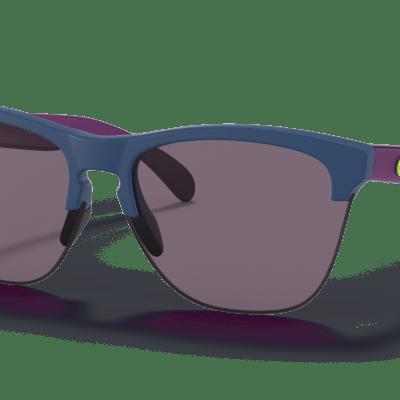 Oakley Frogskins™ Lite Odyssey Collection (Prizm Grey Lenses,  Matte Poseidon Frame)
