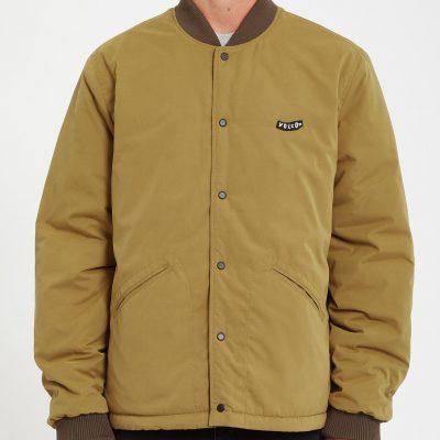 Volcom LOOKSTER Jacket / size -L (BLACK COMBO)