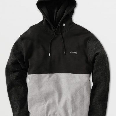 Volcom Division HOODIE / size -S (Black)
